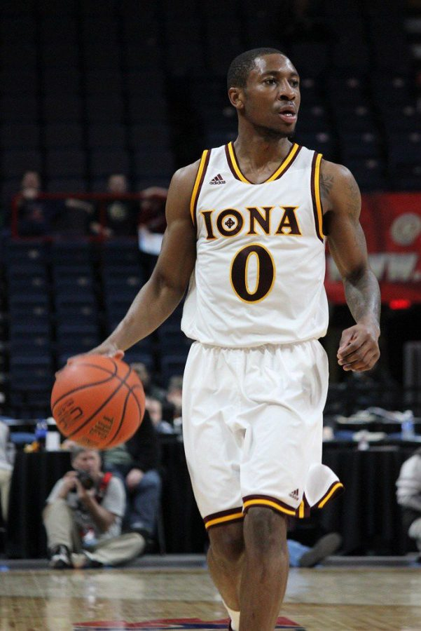 Junior Rickey McGill scored 15 points against Army