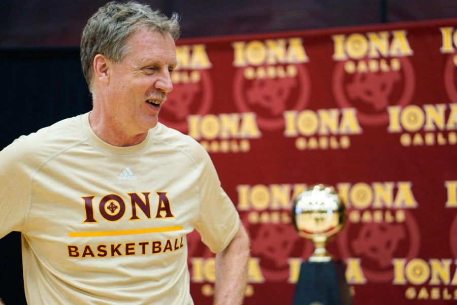 Iona head coach Tim Cluess will be entering his eighth season in New Rochelle.