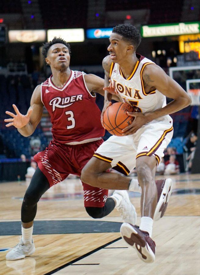 Senior guard Deyshonee Much is one of four returning players on Iona.
