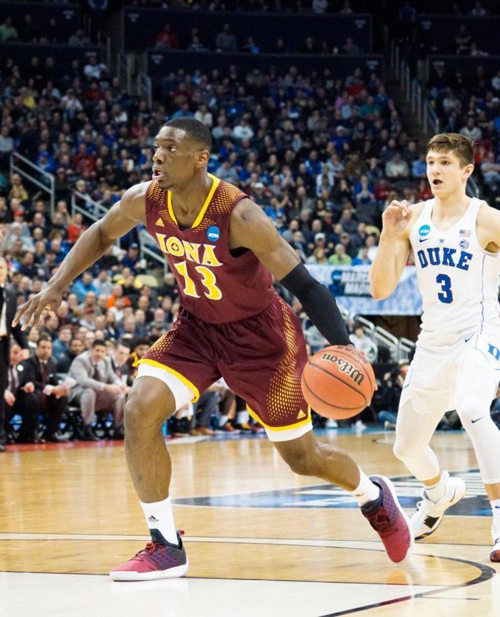 Graduate transfer TK Edogi had 11 points and nine rebounds against Duke on Thursday.