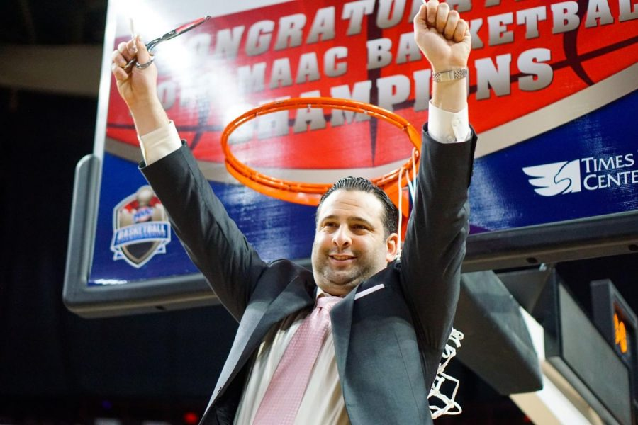 Jared Grasso spent six seasons as associate head coach at Iona College.