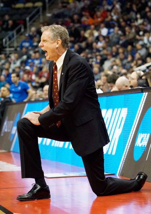 Head coach Tim Cluess has led the men's basketball team to 162 victories during his time at Iona.