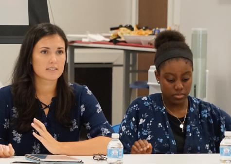 Students share experiences from Italy entrepreneurship program at panel