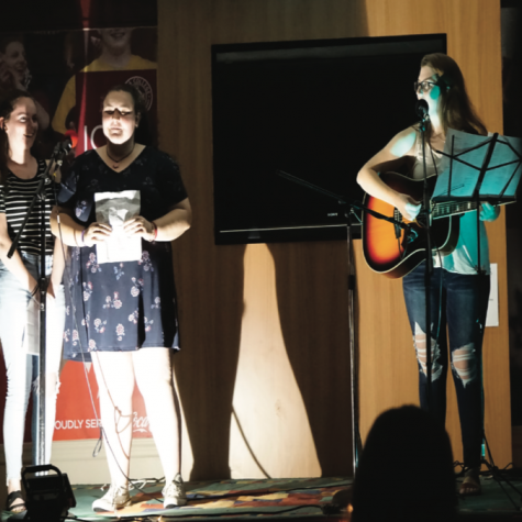 Students perform at biannual Coffee House