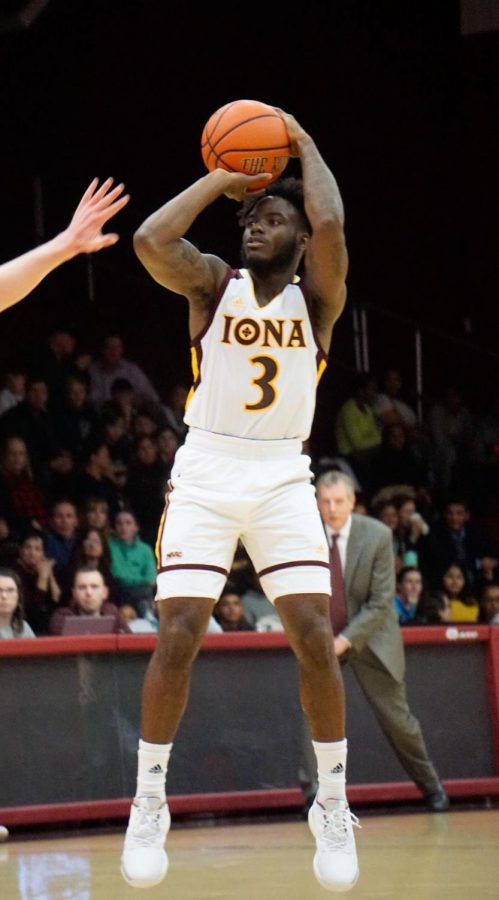 Iona junior guard Asante Gist finished with 21 points in win over Marist on Jan. 18