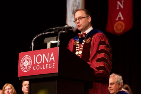 Nyre to step down as president of Iona