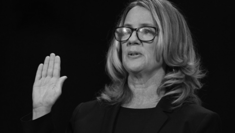 Dr. Christine Blasey Ford testified before the Senate Judiciary Committee during Kavanaugh's confirmation hearing.