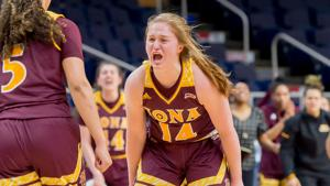 Iona junior Morgan Rachu averaged 11.7 points per game this season.