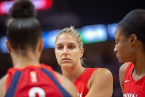 Elena Della Donne is a forward for the Washington Mystics.