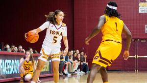 Iona freshman Shyan Mwai reflects on first season with women's basketball team