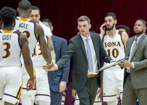Ricky Kerins was a manager during Iona's last four MAAC Championships.
