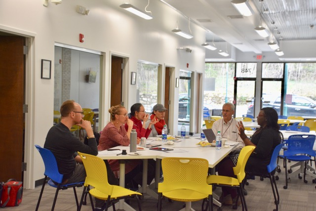 Lunch & Learn event discusses trends in healthcare, how professors can prepare students for future careers
