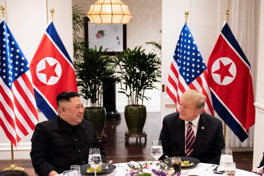 President Trump and North Korean Leader Kim Jong Un met in Vietnam in February to discuss the possibility of North Korea's denuclearization.