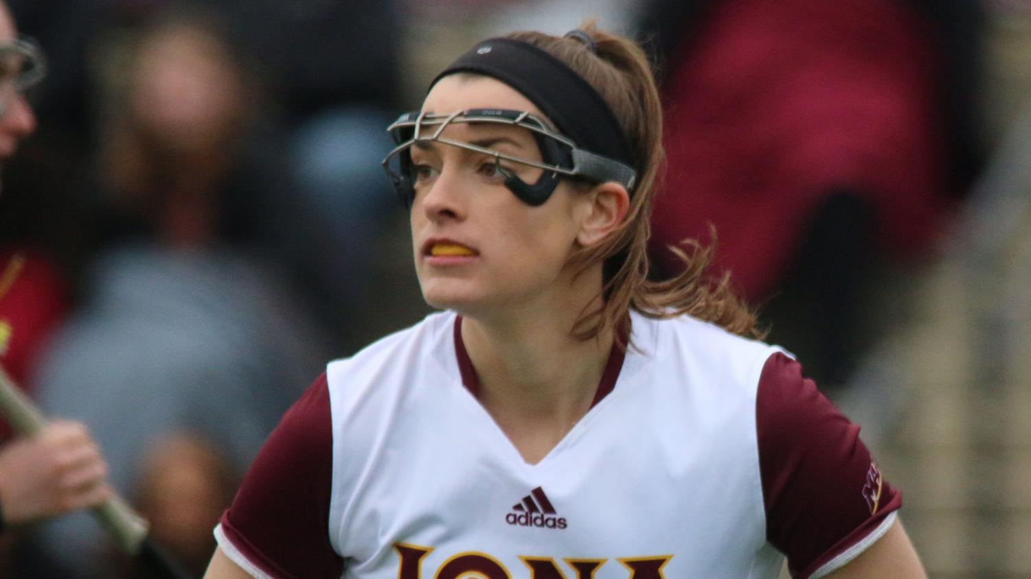 Senior Danielle Keenan scored two goals in her final season as a Gael.