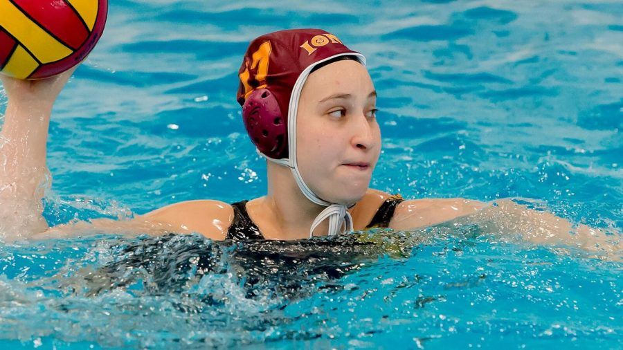 Freshman Jillian Schultz scored four for the Gaels in their win over Virginia Military Institute on April 28.