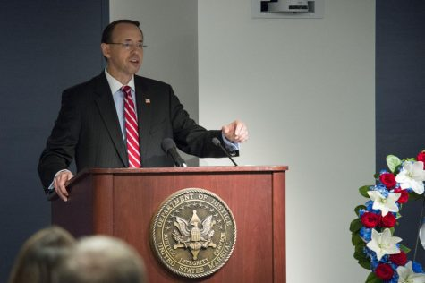 Deputy Attorney General Rod Rosenstein will officially resign from his position on May 11.