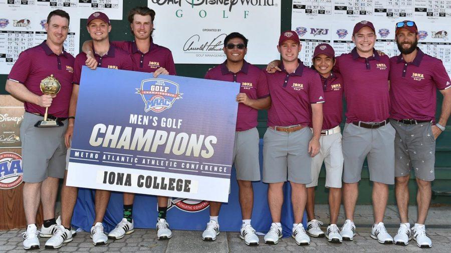 Iona golf has won six MAAC championships in program history.
