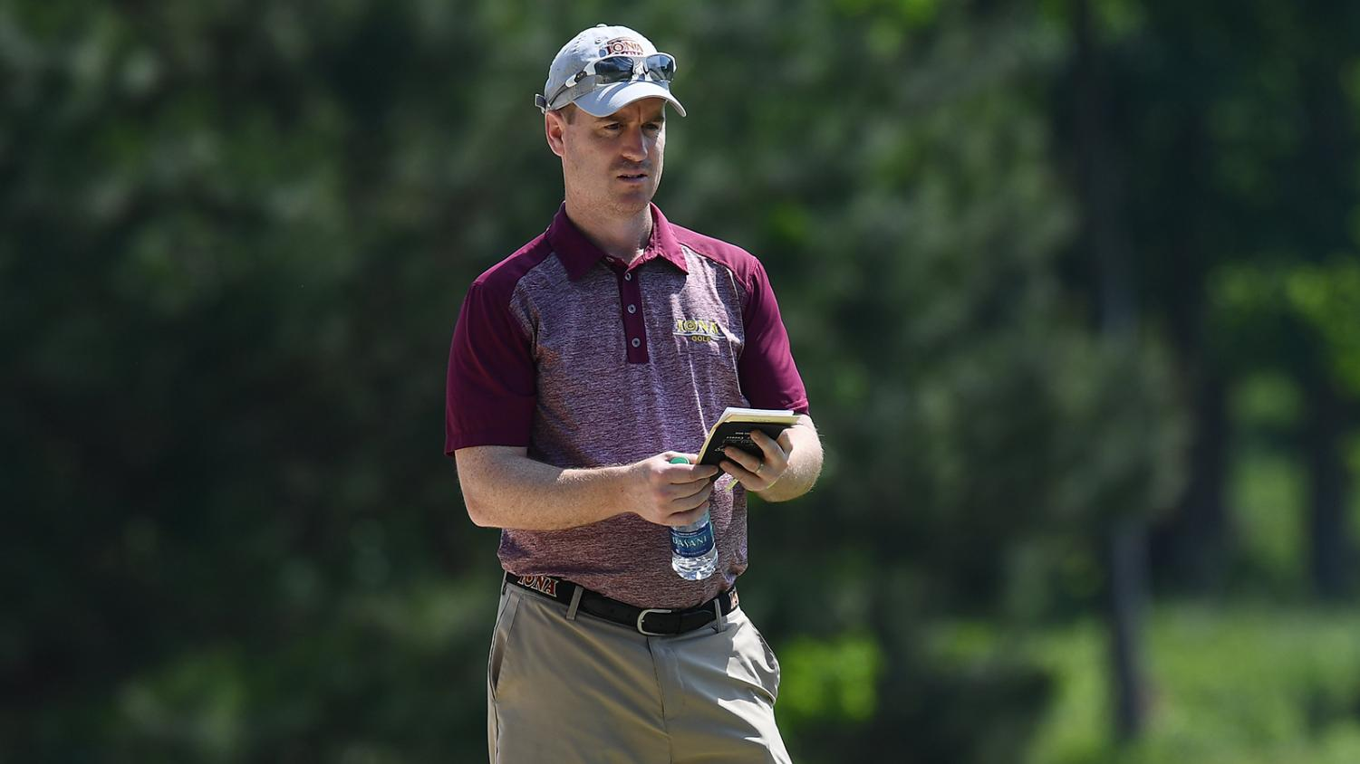 Sean Burke lead the Gaels to back to back Metro Atlantic Athletic Conference championships.