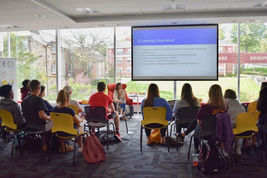 Alumna discusses entrepreneurship, passion