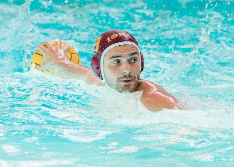 Men's water polo ends regular season as sixth seed