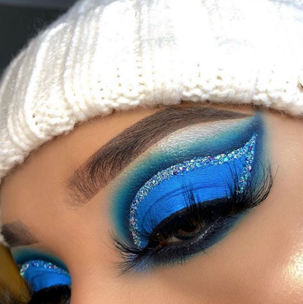 The holidays are a great time to experiment with new makeup looks.