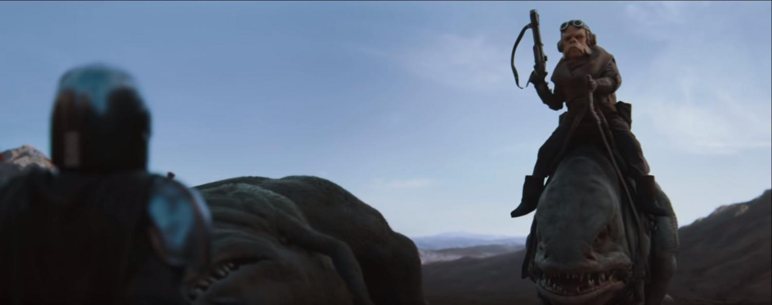 """In the latest extension of the Star Wars universe, """"The Mandalorian"""" follows the epic journey of a cold-hearted bounty hunter."""