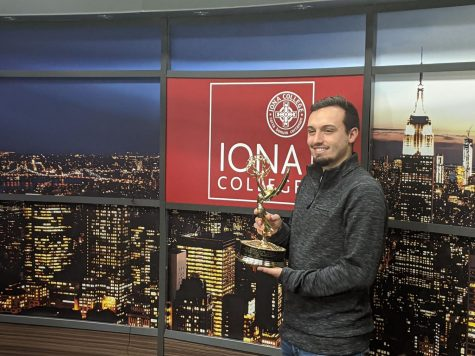 Alumnus wins Emmy for technical work in U.S. Open