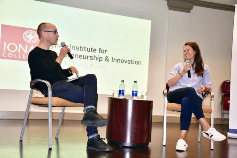 Alumna speaks on entrepreneurial mindset