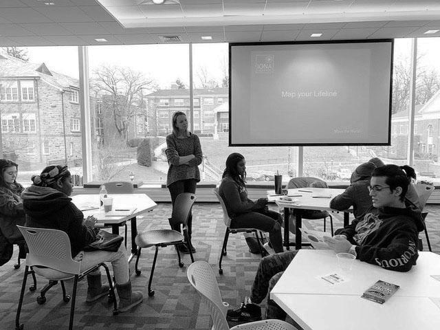 Public speaking focus of Hynes workshop