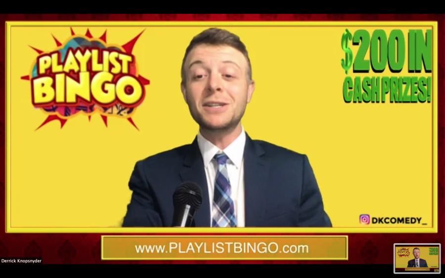 Virtual playlist bingo keeps students engaged, interactive