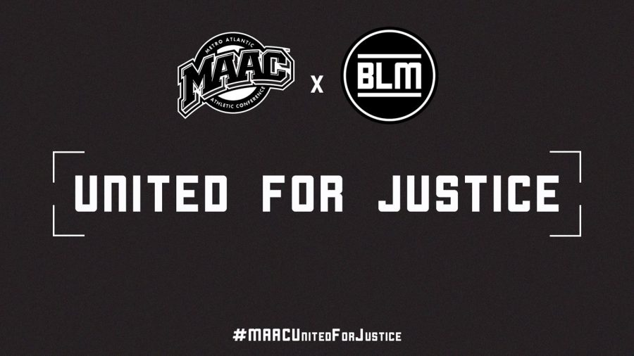 The Metro Atlantic Athletic Conference will work with the Student-Athlete Advisory Committees across the conference to spread awareness regarding Black Lives Matter programs instituted by the MAAC. // Photo from maacsports.com.