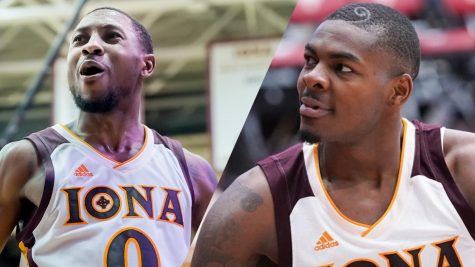 Rickey McGill spent all four years here at Iona while Tajuan Agee transferred in from the University of New Mexico in his junior year. // Photos used courtesy of ICgaels.