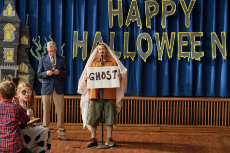 Adam Sandler haunts viewers with another crude performance in Hubie Halloween - Photo Courtsey of Netflix