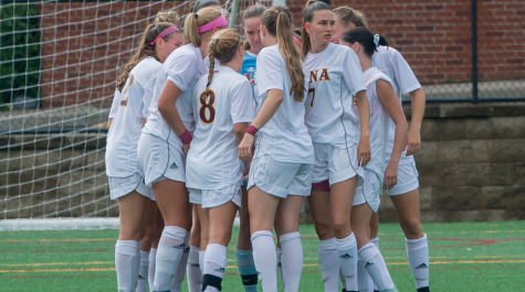The Iona women's soccer team has earned the United Soccer Coaches Team Academic Award for the past 10 out of 12 years. // Photo courtesy of icgaels.com
