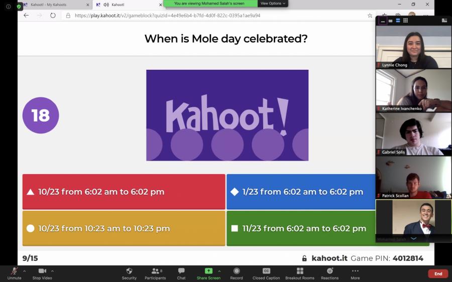 Chemical Society celebrates Mole Day despite move to virtual setting