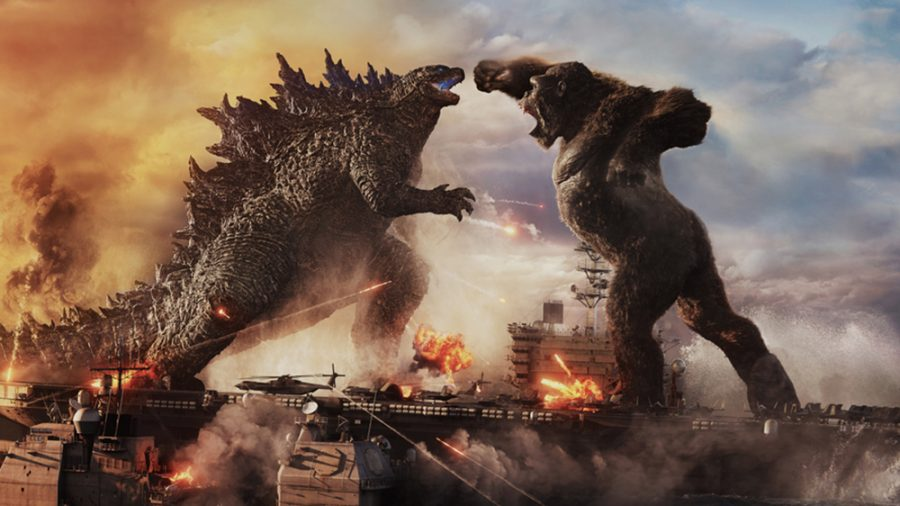 Godzilla+vs.+Kong+showcases+its+hysterically+nonsensical+fights+with+a+spectacular+level+of+action.