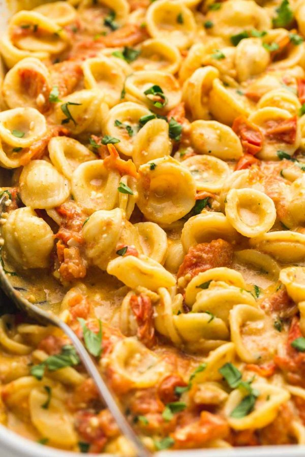 Baked+feta+pasta+and+whipped+coffee+are+two+of+TikTok%E2%80%99s+most+viral+recipes.