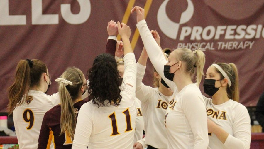 This is the shortest season Iona volleyball has played.
