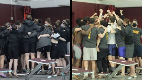 Iona swimming and diving sweeps Spring Invitational