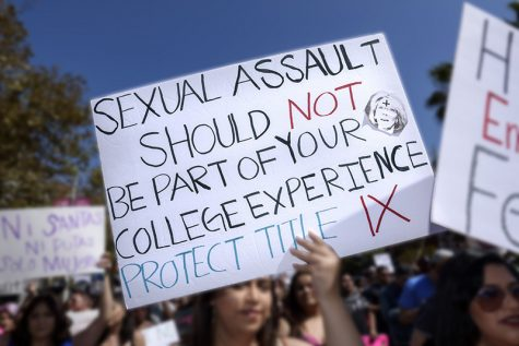 23.1% of female students and 5.4% of male students in the United States experience sexual assault and most cases go unreported.