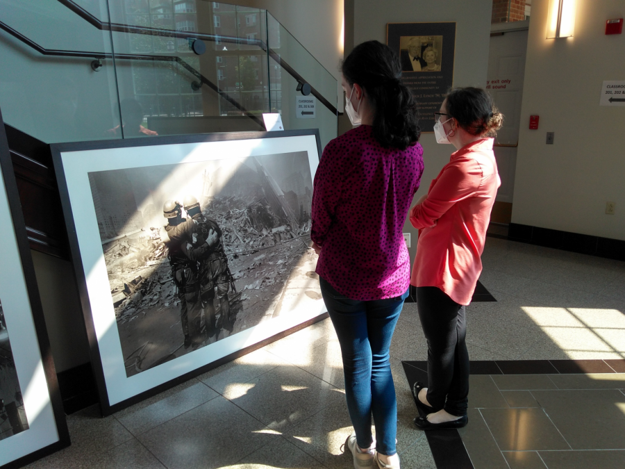 The Iona Community remembers the tragedy and bravery showcased within the photo gallery.
