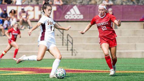 Women's soccer shows improvement in early season