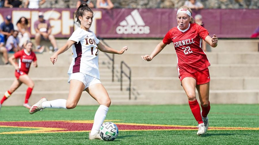 Iona needs to improve their defense at the end of games, as they have allowed 15 goals in the second period or later in their eight games this season.