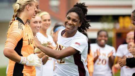 Lewis led her high school squad with 10 goals and 8 assists in 12 games as a senior.