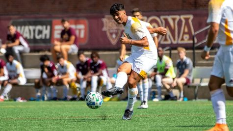 Men's soccer looks to carry hot streak into MAAC play