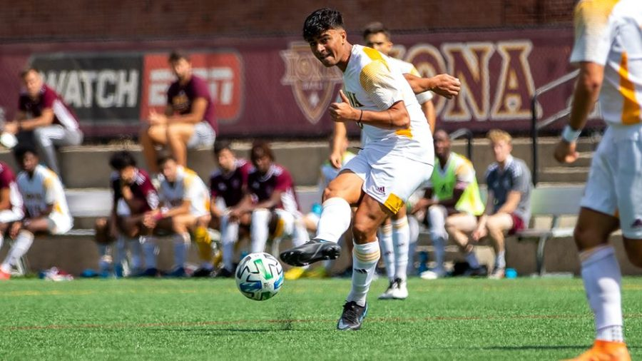 The+Gaels+haven%E2%80%99t+scored+five+goals+in+a+game+since+their+5-0+victory+over+Siena+in+2018.+