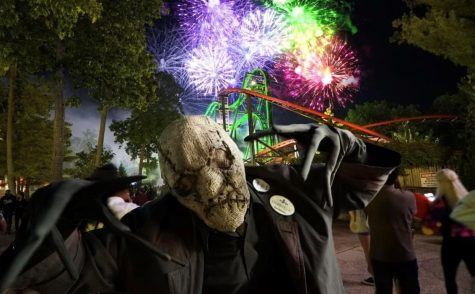 """Six Flags hosts an annual """"Fright Fest"""" that is sure to make your Halloween thrilling."""